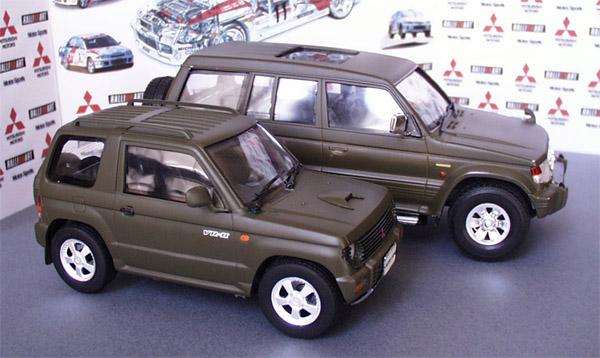 1 24 Mitsubishi Pajero And Pajero Mini